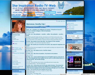 Star Inspiration Radio-TV 4 - Member's Profile Page